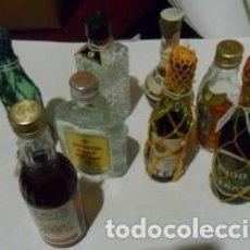 Coleccionismo: LOTE DE 8 ANTIGUAS BOTELLITAS. Lote 74847931