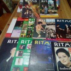 Coleccionismo: LOTE 11 REVISTAS RITMO. Lote 75046807