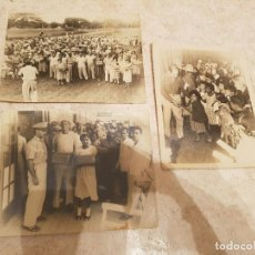 Coleccionismo: CUBA LOTE 3 FOTOS EJERCITO DE BATISTA EN CAYO MAMBI 1953. Lote 75054279