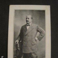 Coleccionismo: TARJETA LERROUX- RECUERDO ASAMBLEA PARTIDO REPUBLICANO RADICAL- VER FOTOS -(V-8756). Lote 75224255