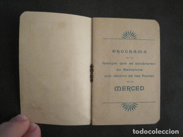 Coleccionismo: FIESTAS MERCE AÑO 1902 - PROGRAMA - BARCELONA - VER FOTOS - (V-8977) - Foto 3 - 75642923