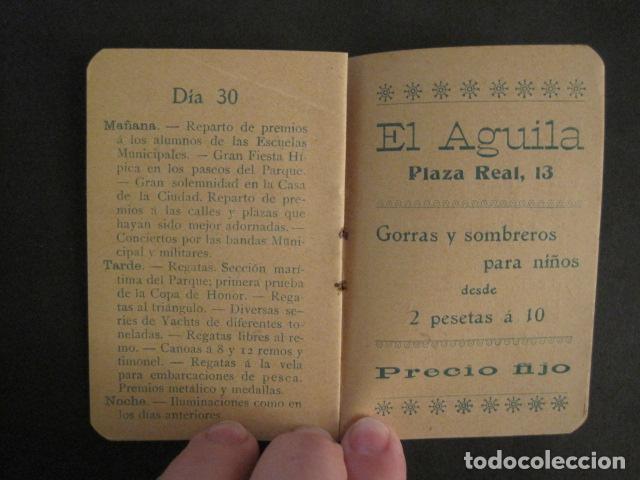 Coleccionismo: FIESTAS MERCE AÑO 1902 - PROGRAMA - BARCELONA - VER FOTOS - (V-8977) - Foto 7 - 75642923