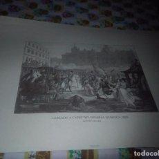 Coleccionismo: GRABADOS HISTORICOS DE NUESTRA P. LLEGADA A CADIZ DEL GENERAL QUIROGA. 1820. MARTINET/ LEVACHEZ. Lote 76018595