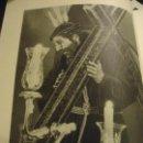 Coleccionismo: 31,5 X 24 ANTIGUA LAMINA SEMANA SEVILLA SANTA BLANCO Y NEGRO CRISTO JESUS NAZARENO COFRADIA O TRIANA. Lote 76072195