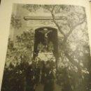 Coleccionismo: 31,5 X 24 ANTIGUA LAMINA SEMANA SEVILLA SANTA BLANCO Y NEGRO - CRISTO DEL AMOR. Lote 76072451