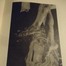 Coleccionismo: 31,5 X 24 ANTIGUA LAMINA SEMANA SEVILLA SANTA BLANCO Y NEGRO - VIRGEN DEL DESCENDIMIENTO . Lote 76076479