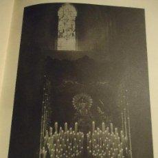 Coleccionismo: 31,5 X 24 ANTIGUA LAMINA SEMANA SANTA SEVILLA BLANCO Y NEGRO - VIRGEN DE LA AMARGURA. Lote 76078895