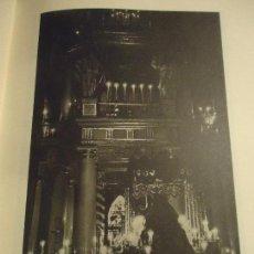 Coleccionismo: 31,5 X 24 ANTIGUA LAMINA SEMANA SANTA SEVILLA BLANCO Y NEGRO - VIRGEN DE LOS ANGELES. Lote 76078959