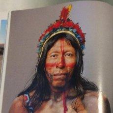 Coleccionismo: FOTOGRAFÍA ARTÍSTICA. INDIO DEL AMAZONAS. PÁGINA DE PRENSA, ENMARCABLE.. Lote 76382323
