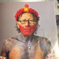 Coleccionismo: FOTOGRAFÍA ARTÍSTICA. INDIO DEL AMAZONAS. PÁGINA DE PRENSA, ENMARCABLE.. Lote 76382815