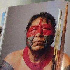 Coleccionismo: FOTOGRAFÍA ARTÍSTICA. INDIO DEL AMAZONAS. PÁGINA DE PRENSA, ENMARCABLE.. Lote 76382939