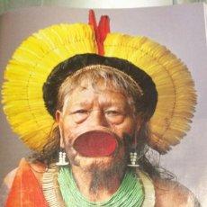 Coleccionismo: FOTOGRAFÍA ARTÍSTICA. INDIO DEL AMAZONAS. PÁGINA DE PRENSA, ENMARCABLE.. Lote 76383407