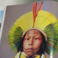 Coleccionismo: FOTOGRAFÍA ARTÍSTICA. INDIO DEL AMAZONAS. PÁGINA DE PRENSA, ENMARCABLE.. Lote 76383951