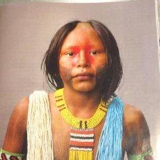 Coleccionismo: FOTOGRAFÍA ARTÍSTICA. MUJER INDIA DEL AMAZONAS. PÁGINA DE PRENSA, ENMARCABLE.. Lote 76385119