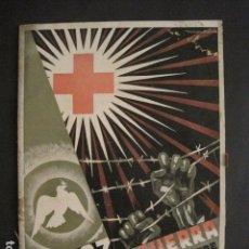 Coleccionismo: GUERRA CIVIL - PORTADA MONLEON - FEBRERO 1938 - CRUZ ROJA - VER FOTOS-(V-9167). Lote 76633815