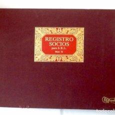 Coleccionismo: LIBRO REGISTRO SOCIOS.,SRL. 1995. EL ENVIO ESTA INCLUIDO.EN EL PRECIO.. Lote 76870439