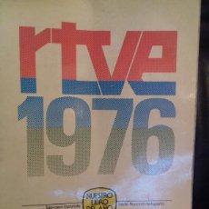 Coleccionismo: LIBRO HISTORIA DE LA TVE 1976. Lote 76914814