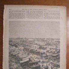 Coleccionismo: MERCADO DE MATERIAS TEXTILES EN BUENOS AIRES (ARGENTINA), 1871.. Lote 77220773