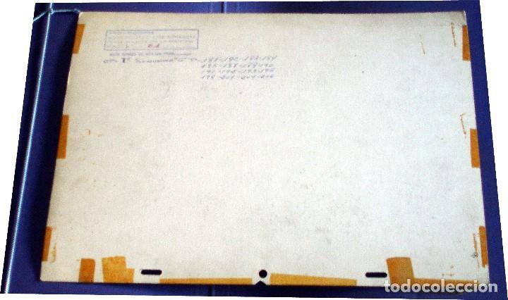 Coleccionismo: FONDO 61 ORIGINAL DE LA SERIE DE DIBUJOS ANIMADOS D. QUIJOTE DE LA MANCHA (1979) - Témpera - Foto 2 - 77269353