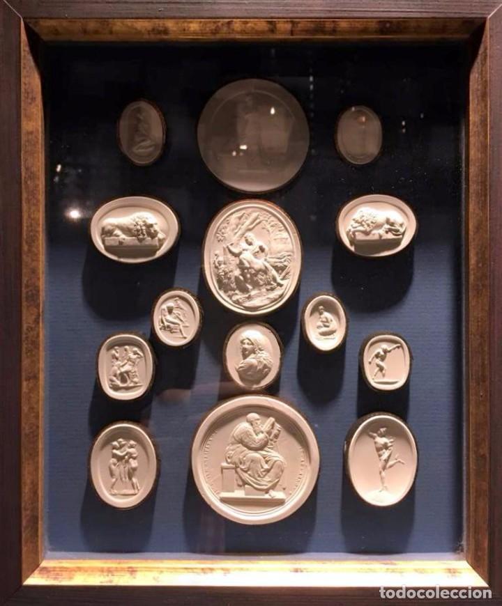 Coleccionismo: Improntas de escayola - Foto 3 - 77359901