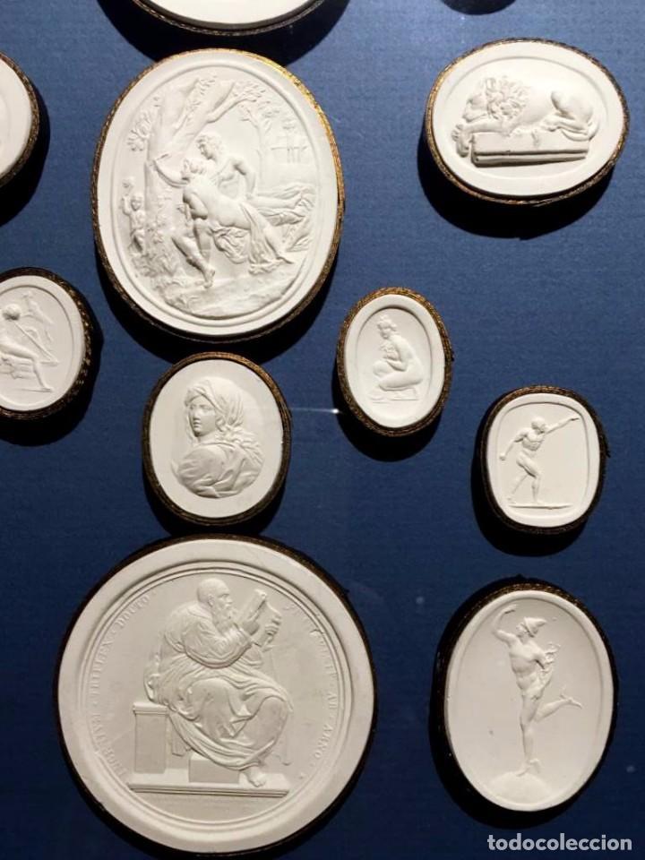 Coleccionismo: Improntas de escayola - Foto 6 - 77359901