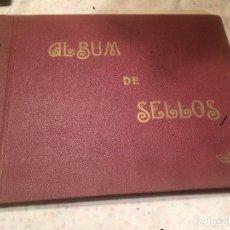 Coleccionismo: ANTIGUO ALBUM DE SELLOS SIN ESTRENAR AÑOS 40 . Lote 77562885
