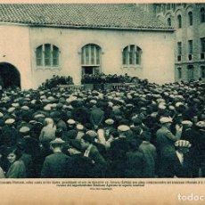 Coleccionismo: AÑO 1929 RECORTE PRENSA CERVERA LLEIDA LERIDA HOMENAJE RAMON VIDAL CREADOR SINDICATO AGRICOLA. Lote 78067365