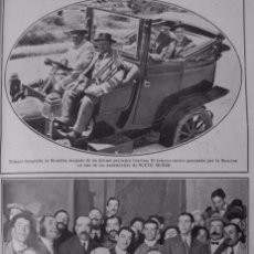 Coleccionismo: 1910-19- TORERO BOMBITA EN AUTOMÓVIL-MITIN REPUBLICANOS LERROUX.MITIN REPUBLICANO PLAZA TOROS EIBAR. Lote 78162625