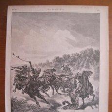 Coleccionismo: CAZA DEL JAGUAR EN PARAGUAY, (AMÉRICA DEL SUR), 1887.. Lote 78236409