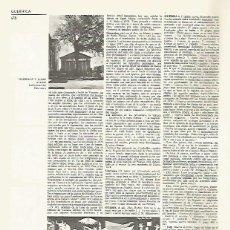 Coleccionismo: LAMINA LAROUSSE 70105: GUERNICA Y LUNO . EL GUERNICA DE PICASSO. Lote 79100618