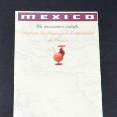 Coleccionismo: FOLLETO PABELLÓN MÉXICO. EXPO´92 SEVILLA. Lote 79202313