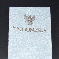 Coleccionismo: FOLLETO PABELLÓN INDONESIA. EXPO´92 SEVILLA. Lote 79218373