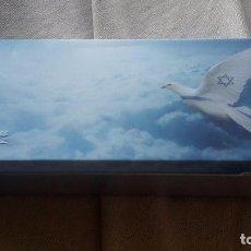 Coleccionismo: CAJA LINEAS AÉREAS DE ISRAEL. Lote 79480577