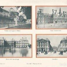 Coleccionismo: LAMINA ESPASA 2268: PALACIOS DE PARIS. Lote 79775423