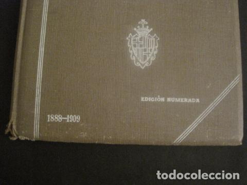 Coleccionismo: BARCELONA 1888- 1909 - PROYECTO ABASTOS ALIMENTICIOS Y LIMPIEZA- MUCHOS MAPAS - VER FOTOS - (V-9721) - Foto 4 - 80114569