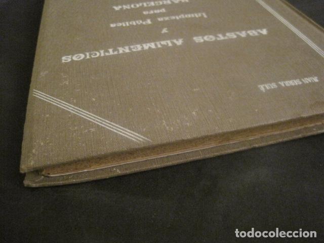Coleccionismo: BARCELONA 1888- 1909 - PROYECTO ABASTOS ALIMENTICIOS Y LIMPIEZA- MUCHOS MAPAS - VER FOTOS - (V-9721) - Foto 8 - 80114569