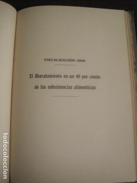 Coleccionismo: BARCELONA 1888- 1909 - PROYECTO ABASTOS ALIMENTICIOS Y LIMPIEZA- MUCHOS MAPAS - VER FOTOS - (V-9721) - Foto 19 - 80114569