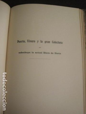 Coleccionismo: BARCELONA 1888- 1909 - PROYECTO ABASTOS ALIMENTICIOS Y LIMPIEZA- MUCHOS MAPAS - VER FOTOS - (V-9721) - Foto 20 - 80114569