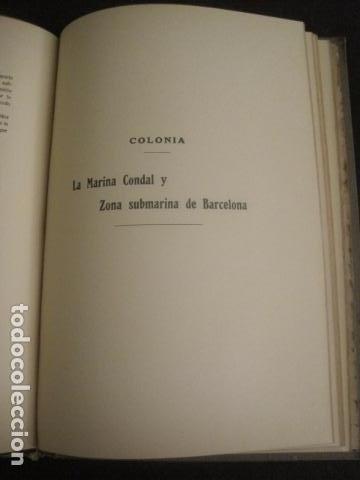 Coleccionismo: BARCELONA 1888- 1909 - PROYECTO ABASTOS ALIMENTICIOS Y LIMPIEZA- MUCHOS MAPAS - VER FOTOS - (V-9721) - Foto 22 - 80114569