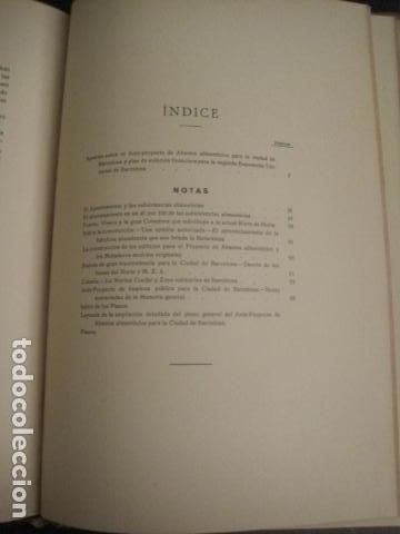 Coleccionismo: BARCELONA 1888- 1909 - PROYECTO ABASTOS ALIMENTICIOS Y LIMPIEZA- MUCHOS MAPAS - VER FOTOS - (V-9721) - Foto 24 - 80114569