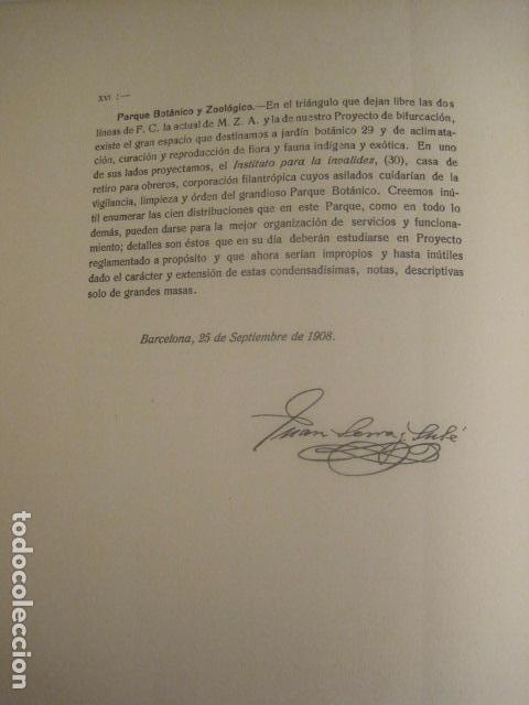 Coleccionismo: BARCELONA 1888- 1909 - PROYECTO ABASTOS ALIMENTICIOS Y LIMPIEZA- MUCHOS MAPAS - VER FOTOS - (V-9721) - Foto 26 - 80114569
