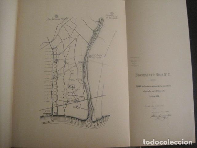 Coleccionismo: BARCELONA 1888- 1909 - PROYECTO ABASTOS ALIMENTICIOS Y LIMPIEZA- MUCHOS MAPAS - VER FOTOS - (V-9721) - Foto 28 - 80114569
