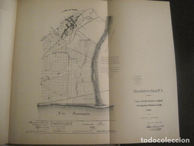 Coleccionismo: BARCELONA 1888- 1909 - PROYECTO ABASTOS ALIMENTICIOS Y LIMPIEZA- MUCHOS MAPAS - VER FOTOS - (V-9721) - Foto 29 - 80114569