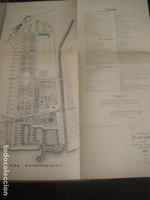 Coleccionismo: BARCELONA 1888- 1909 - PROYECTO ABASTOS ALIMENTICIOS Y LIMPIEZA- MUCHOS MAPAS - VER FOTOS - (V-9721) - Foto 30 - 80114569
