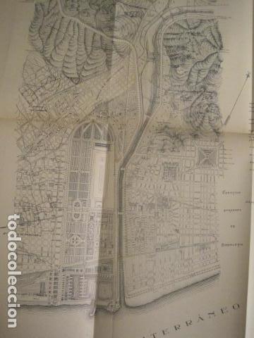 Coleccionismo: BARCELONA 1888- 1909 - PROYECTO ABASTOS ALIMENTICIOS Y LIMPIEZA- MUCHOS MAPAS - VER FOTOS - (V-9721) - Foto 35 - 80114569