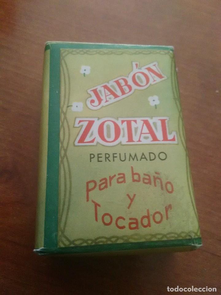 PASTILLA JABÓN DE ZOTAL PERFUMADO (Coleccionismo - Varios)