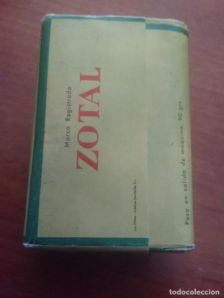 Coleccionismo: PASTILLA JABÓN DE ZOTAL PERFUMADO - Foto 2 - 89744908