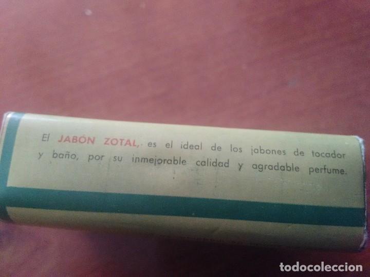 Coleccionismo: PASTILLA JABÓN DE ZOTAL PERFUMADO - Foto 3 - 89744908