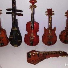 Coleccionismo: LOTE INSTRUMENTOS MUSICALES - MINIATURAS. Lote 81480728