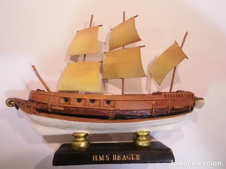 HMS BEAGLE - REPLICA BARCO - PROTOTIPO ORIGINAL COLECCION BARCOS DE LA HISTORIA (Coleccionismo - Varios)